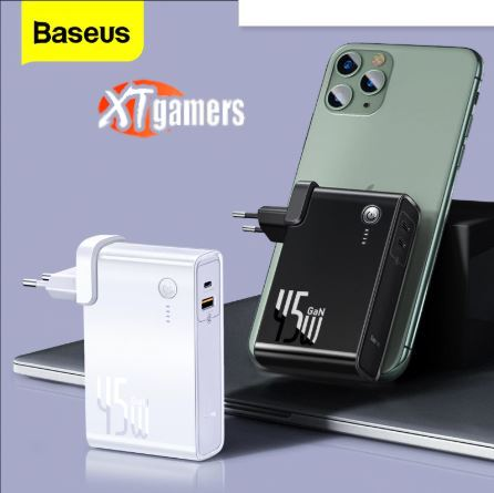 Baseus GaN 45 Вт Power Bank 10000 мАч