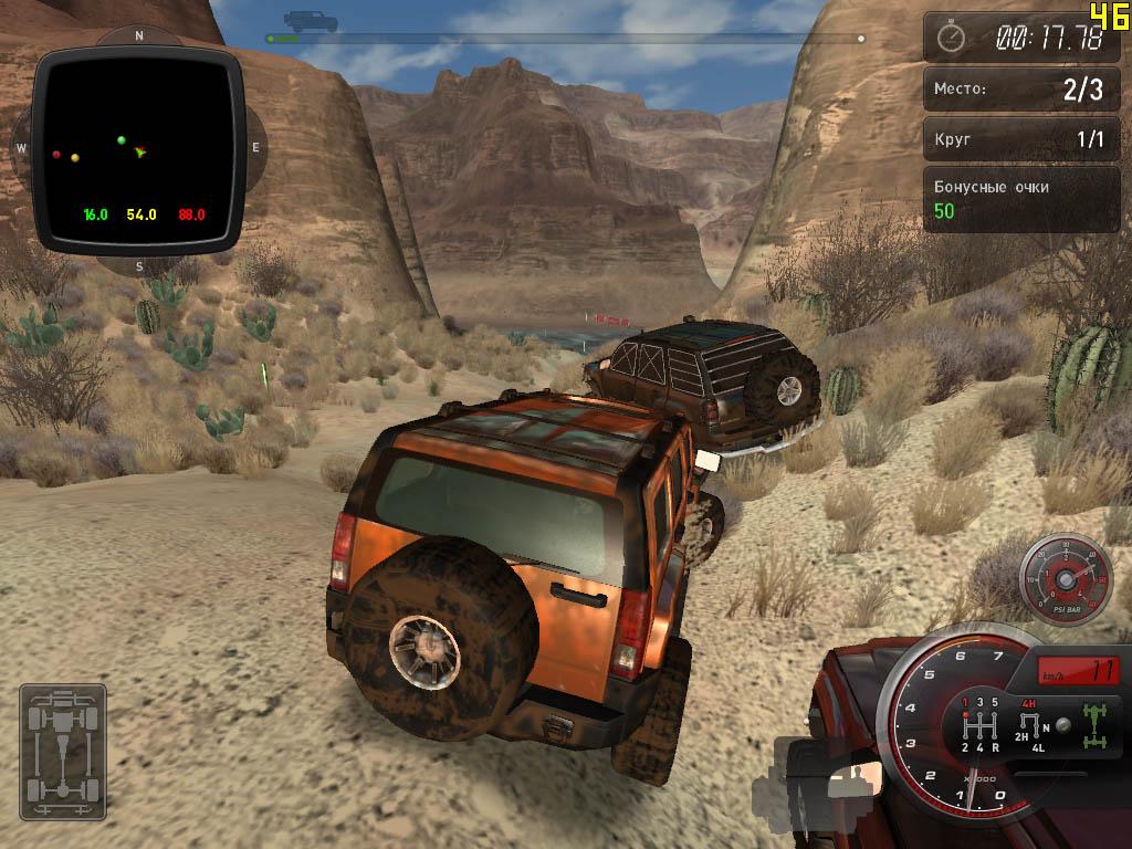 скачать игру Hummer полный привод 2 - фото 3